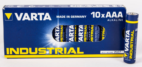 AAA Varta Industrial 10 Pack