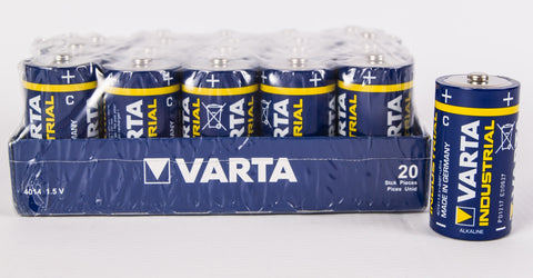 C Varta Industrial Tray Pack