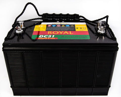 12V 102A/h Deep Cycle Delkor Royal Battery
