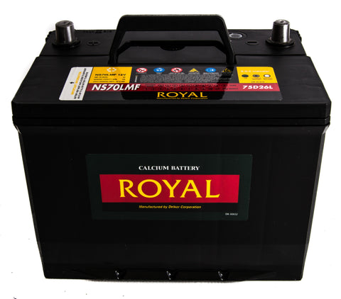 12V 66A/h Delkor Royal Battery