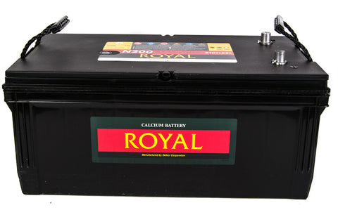 12V 200A/h Delkor Royal Battery