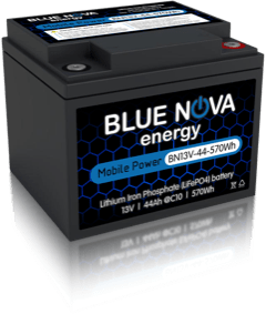BN13V-44-570Wh LiFePO4 Rechargeable Battery