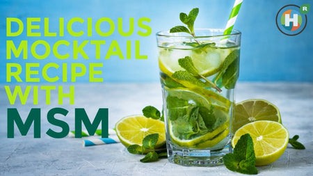 Delicious Mocktail Recipe with MSM