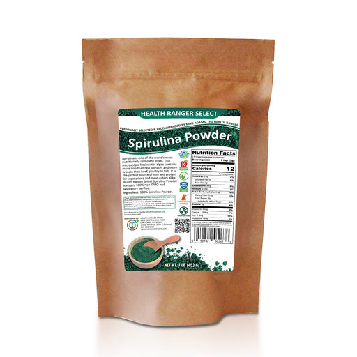 Health Ranger Select Spirulina Powder 1lb (454g)