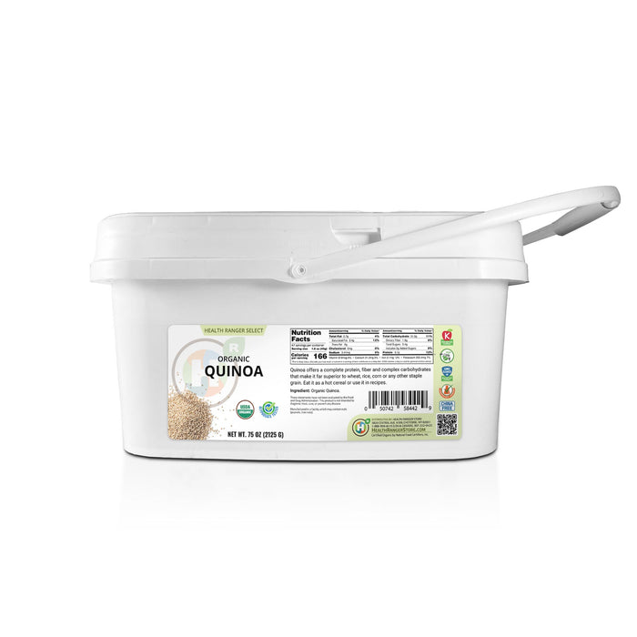 Mini Bucket - Organic Quinoa 75 oz (2125 g)