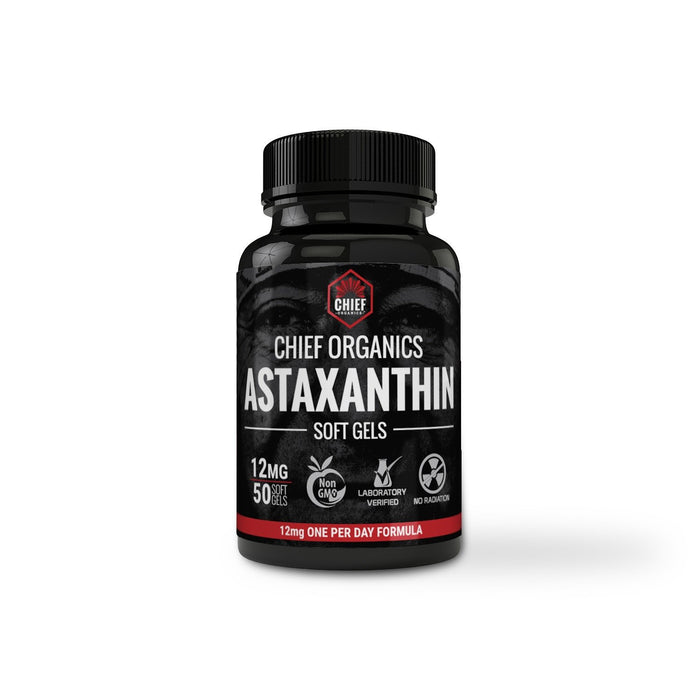 Astaxanthin (12mg) + OptiMSM Flakes (13oz) Combo Pack