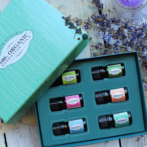 Health Ranger Select 100% Essential Oils 5ml (6-Pack Gift Set B)