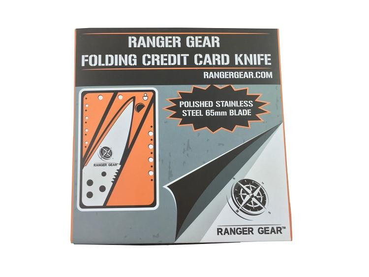 Ranger Gear Folding Credit Card Knife (Metal handle)