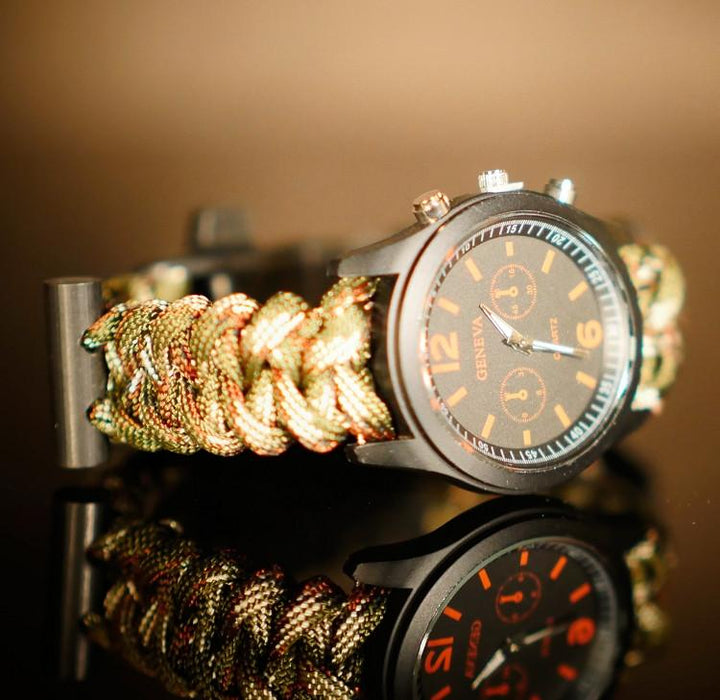 Ranger Gear Paracord Bracelet with Watch