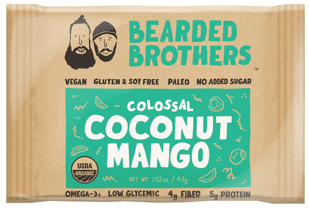 Colossal Coconut Mango Energy Bars (12 Pack)