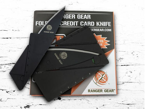 Ranger Gear Folding Credit Card Knife (Polymer Handle)