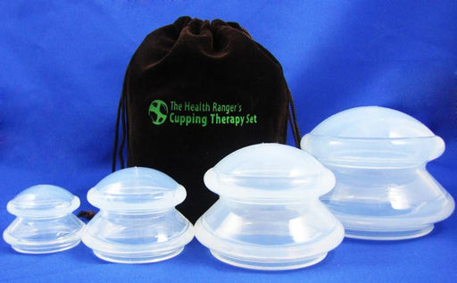 Health Ranger's Cupping Therapy Set (4 cups)