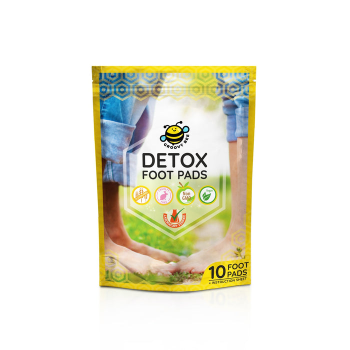Groovy Bee® Detox Foot Pads (10 Pads/Box)
