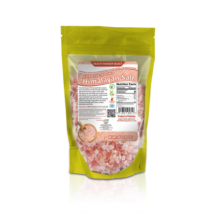 Foot Soak Kit Organic Peppermint Essential Oil + Pink Himalayan Salt