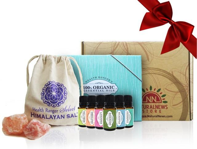 Organic Rejuvenating Bath Gift Set