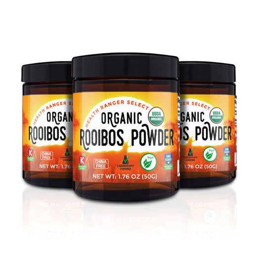 Organic Rooibos Powder 1.76oz (50g) (3-Pack)