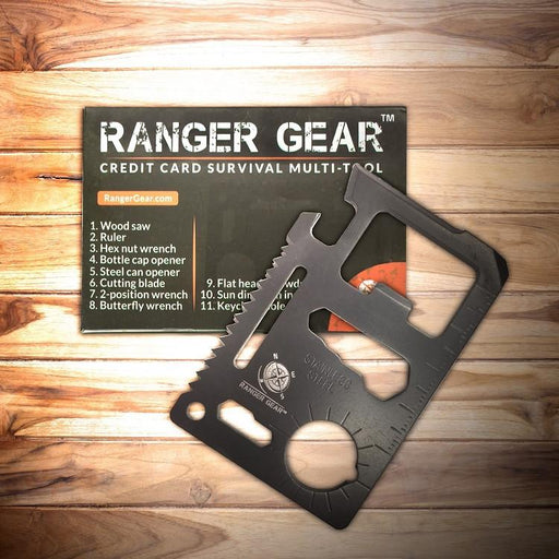 Ranger Gear Credit Card Survival Multi-tool