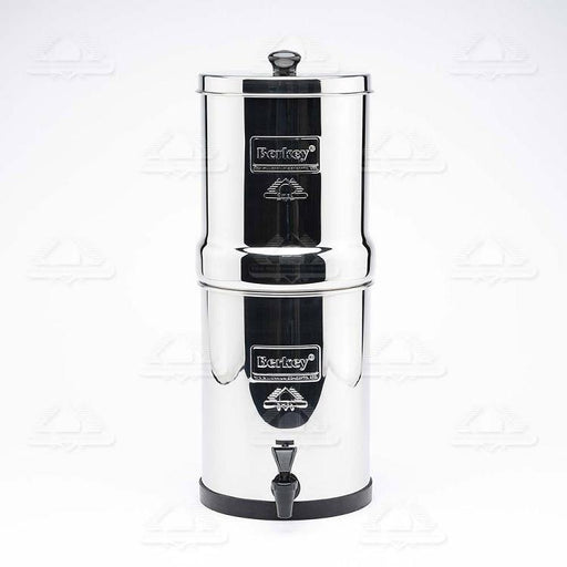 Travel Berkey Water Filtration System with 2 Black Berkey Filters