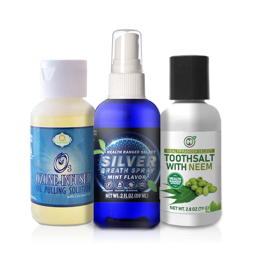 Ultimate Dental Essentials Kit + Silver Breath Spray Combo Pack