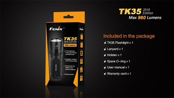 Fenix TK35 Flashlight [960 Lumens]