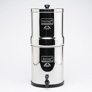 Big Berkey Stainless Steel Water Filtration System with 2 Black Berkey Filters (Great For 1-4 People: 2.1 Gallons capacity)