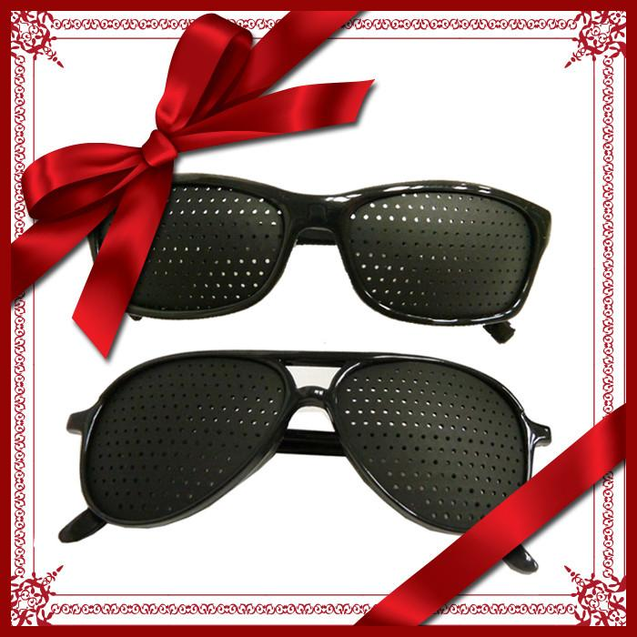 Gift Pack D - Pinhole glasses (Aviator style + Sports style)
