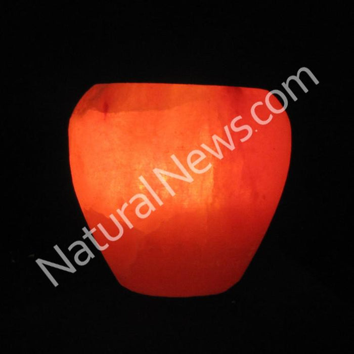 Himalayan Crystal Salt Tea Light APPLE shape