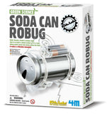 4M Kidz Labs Green Science Soda Can Robug - emarkiz-com.myshopify.com