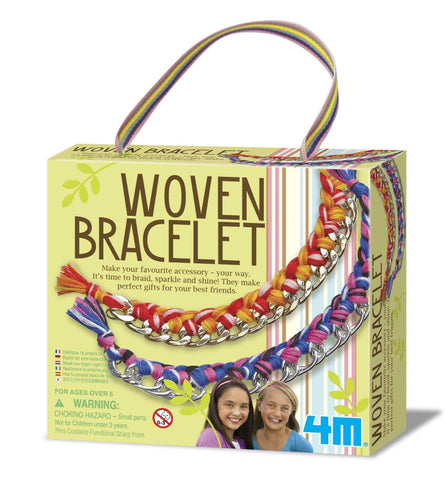 4M Girl Accessories - Woven Bracelet