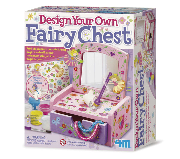 4M Fairy Mirror Chest Kids DIY Arts & Craft Kit