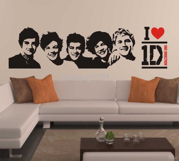 One Direction Wall Decal