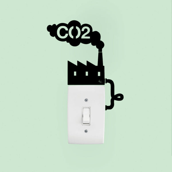 CO2 Switch Wall Decal Sticker - emarkiz-com.myshopify.com