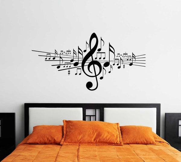 Music Notes Wall Decal - emarkiz-com.myshopify.com