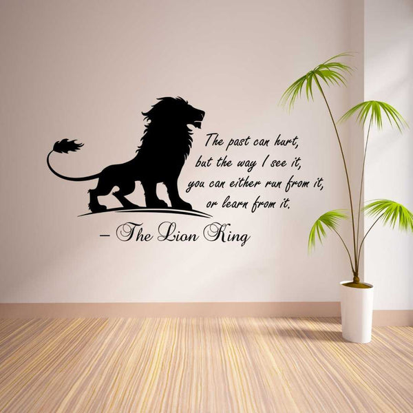 The Lion King Quote Wall Decal