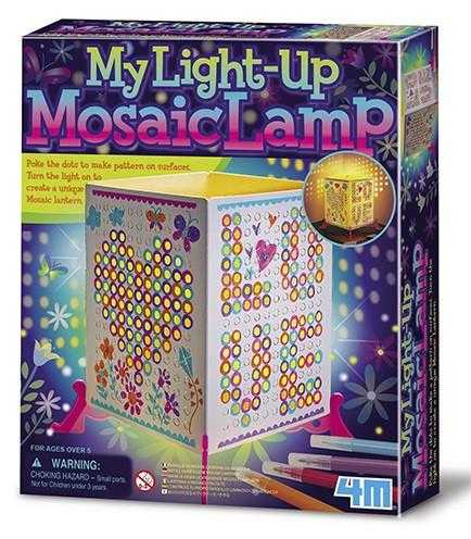 4M Mosaic Lantern Kids DIY Arts & Craft Kit