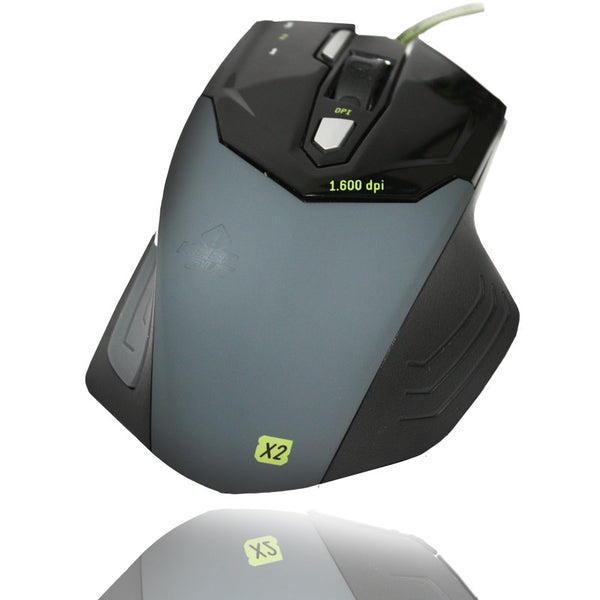 X2 Keep Out Optical Gaming Mouse 1600DPI and 7 Buttons - emarkiz-com.myshopify.com