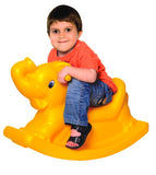 Yellow Rocking Elephant for Toddlers