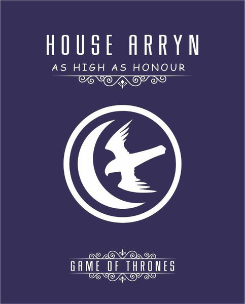 Game of Thrones House Arryn Canvas