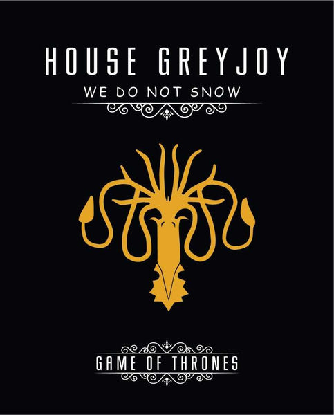Game of Thrones House Greyjoy Canvas