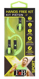 TnB Sport - Back Of Ears And Water Resistant Earphones With Hands Free Kit in 3 Colors