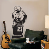 Michael Jordan Sports Celebrity Wall Decal Sticker - emarkiz-com.myshopify.com