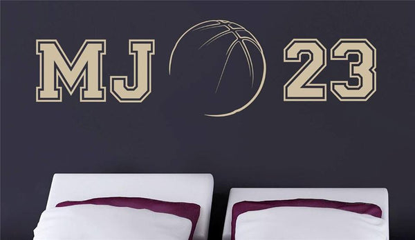 Michael Jordan MJ 23 Sports Basketball Celebrity Wall Decal - emarkiz-com.myshopify.com