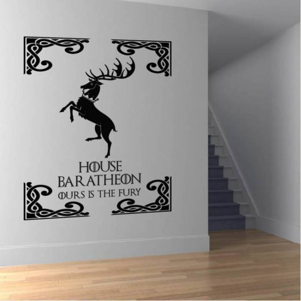 House Baretheon Game Of Thrones Wall Decal