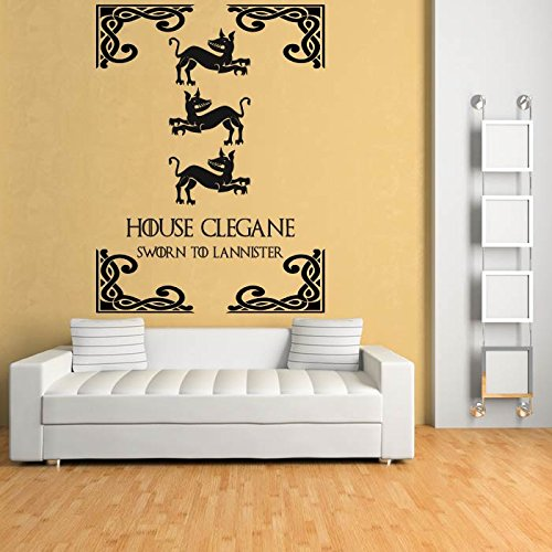 House Cleghan Game Of Thrones Wall Decal