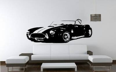 Old Racer Vintage Car Wall Decal Sticker - emarkiz-com.myshopify.com