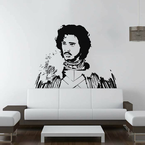Jon Snow Game Of Thrones Wall Decal