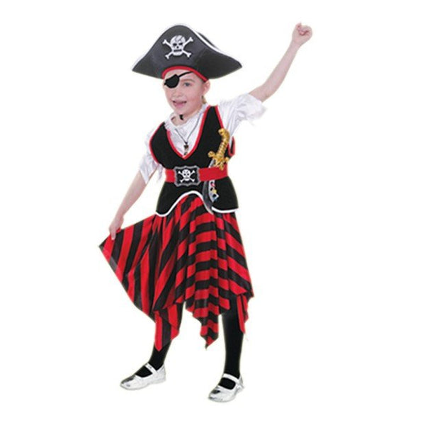 Girl Pirate Kids Costume