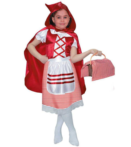 Girl Red Riding Hood Kids Costume