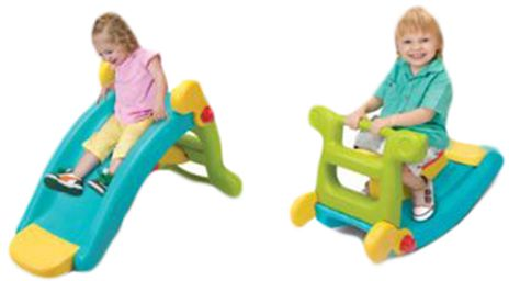 Fun Slide & Rocker 2-in-1