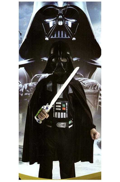 Kids Star Warrior Darth Vader Costume